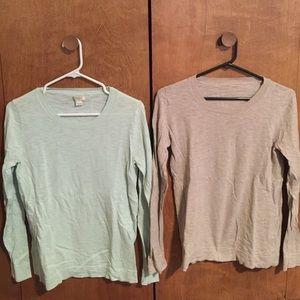J. Crew Cotton Sweaters