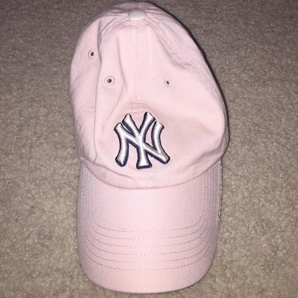 Accessories - New York Yankees pink baseball cap fa054893220e