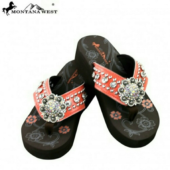 638a57540263 Pink Bling Flip-flops. Boutique. Montana West