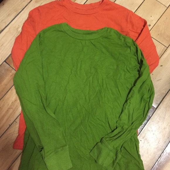 b2d8b1f8f Circo Shirts & Tops   Boys 8 Basic Layering Tees Tops Green Orange ...
