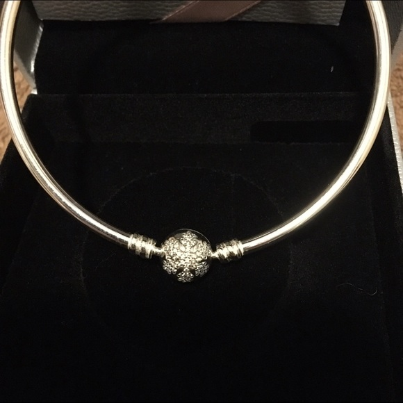 9968d81dc Pandora Jewelry | Unique Snowflake Limited Edition Bangle By | Poshmark