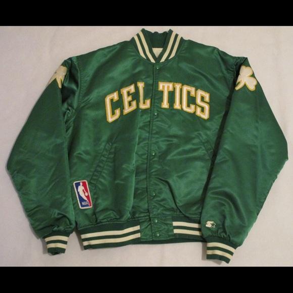 a240cc45f Jackets & Coats | Vintage Nba Boston Celtics Starter Jacket | Poshmark