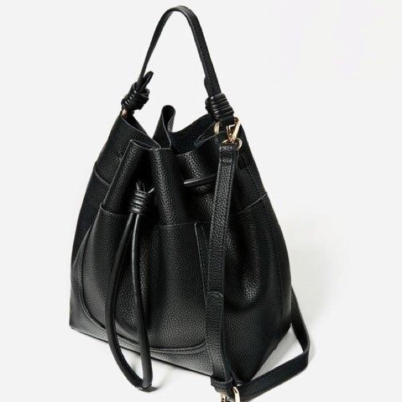 Zara - ZARA Drawstring Bucket Bag from Maria's closet on Poshmark
