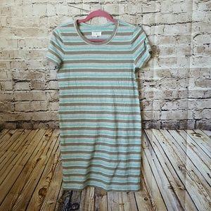 Lou & grey stripe  t shirt dress