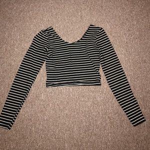 American apparel crop top