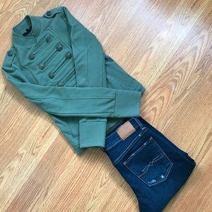 Express Sweaters - Express Military Style Jacket XXS