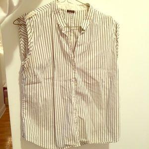 Joseph Tops - Joseph sleeveless button down shirt