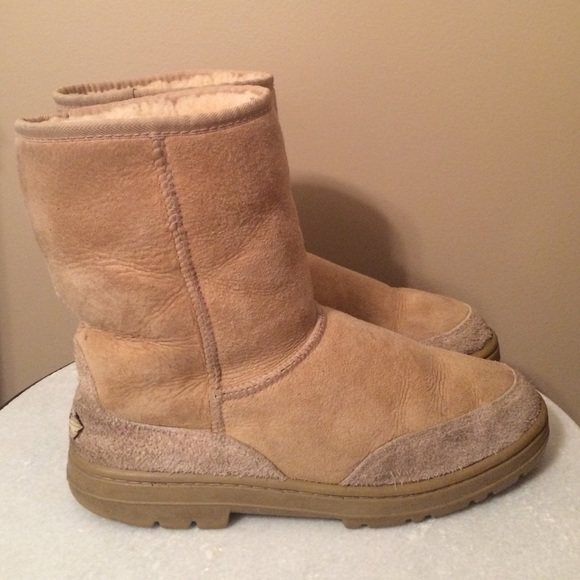 Ugg Boots With Hard Sole