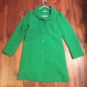 Fabulous *NEW* boutique green coat