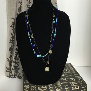EXPRESS NWT long layers necklace