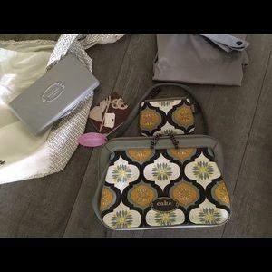 Petunia Pickle Bottom Handbags - Petunia Pickle Bottom Cameo Clutch
