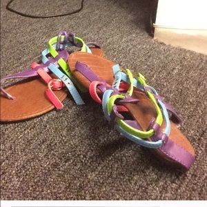 Traffic Shoes - colorful sandals
