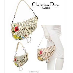 Christian Dior Handbags - VINTAGE*RARE*CHRISTIAN DIOR Bag Saddle