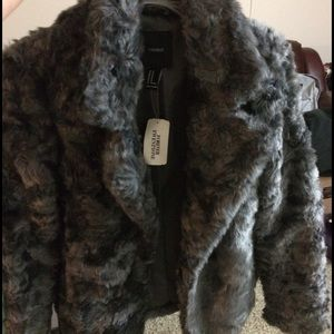 Forever 21 Fur Coat