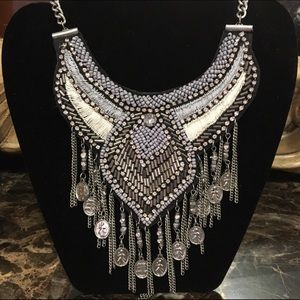 Beautiful Beaded Statement Necklace