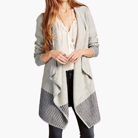 17% off Lucky Brand Sweaters - Lucky Brand Waterfall Cardigan from ...