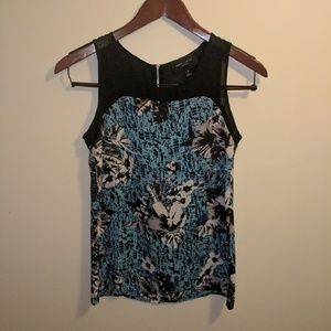 Romeo & Juliet Couture Tops - Romeo + Julia Couture floral tank top.