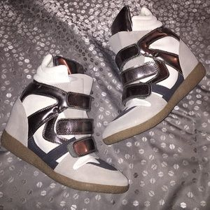 Sneaker Wedges Size 6.5
