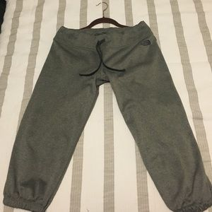 The North Face cropped sweatpants