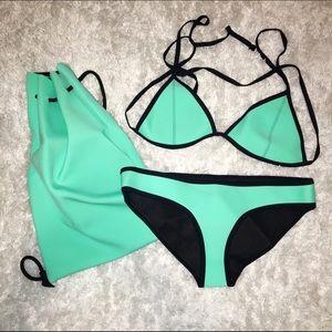 triangl swimwear Other - Triangl Bathingsuit Mint Green