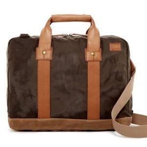 Andrew Marc Other - NWT Marc New York canvas briefcase