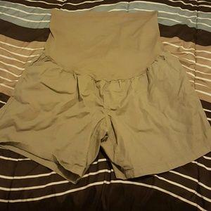 Liz Lange Maternity Khaki Shorts