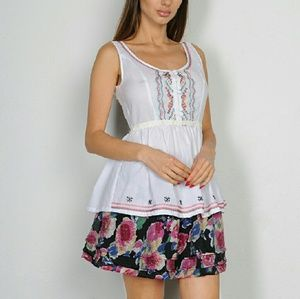 Tops - Ukrianian Boho Inspired Embroidered Design Top