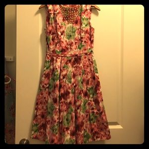 Size 4 floral dress