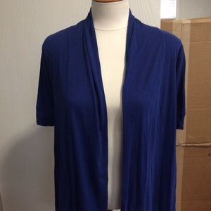 NWOT Express Royal Blue Cardigan/Pullover
