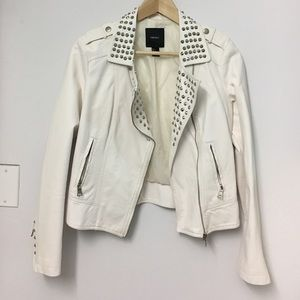 Forever21 studded faux leather jacket