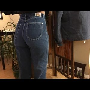 Vintage Brittania high waisted jeans