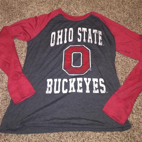 9686716a2ff2f Colosseum Tops - Ohio State Buckeyes colosseum shirt - medium