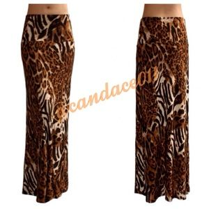 CC Boutique  Dresses & Skirts - ⭐️5 STAR rated!⭐️Animal Print Maxi Skirt