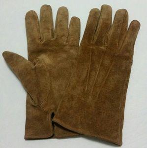 Aris Accessories - Vintage Aris genuine leather gloves camel XL