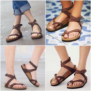 Noir Chaussures Blanche Birkenstock Yara Et Erxbowedqc f6gby7