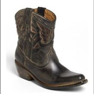 Bed Stu Shoes - BED STU Western Cowboy Distressed Leather Boots