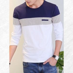 Other - Color Block Long Sleeve Tee