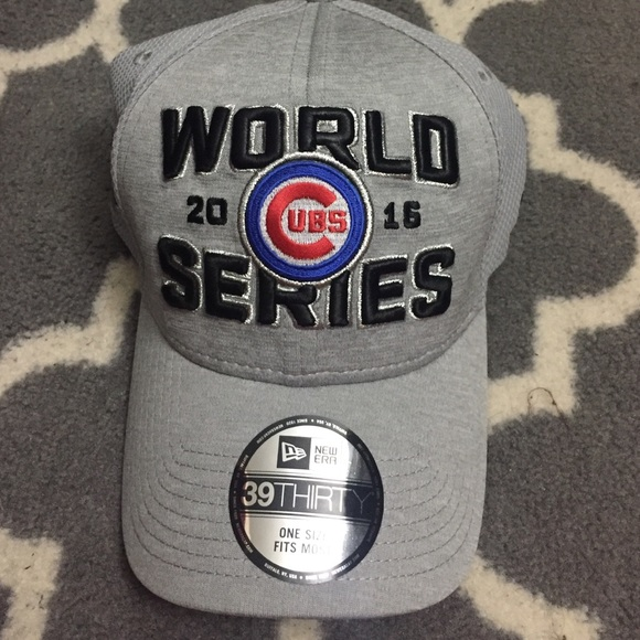 Chicago Cubs grey World Series hat b8f63adb4db