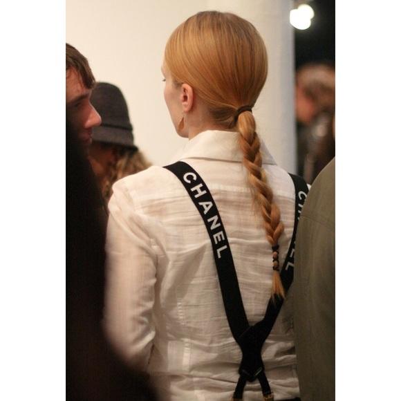 chanel suspenders. chanel accessories - flash sale 🚫offers last pair chanel suspenders poshmark