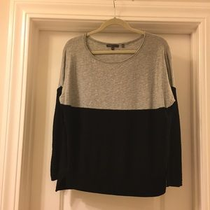 Vince small colorblock sweater