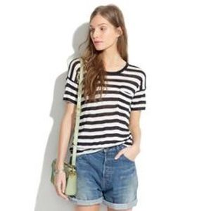 Madewell | Slideshow Tee in Stripe