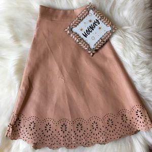 Forever 21 Skirts - Forever 21 Nude Mini Skirt