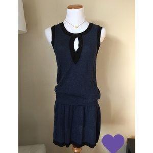 Nanette Lepore Keyhole Sweater Dress