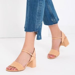 ZARA Sandals with Block Heel