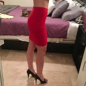 bebe Dresses & Skirts - Bebe Bodycon Bandage Skirt