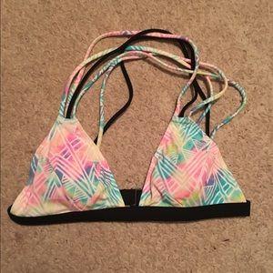 Victoria's Secret PINK Watercolor Bikini Top