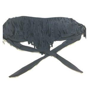 Fringe Bandeau Bikini top