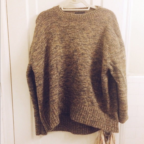 Zara - Oversized Heathered Zara Sweater from Elizabeth's closet on ...