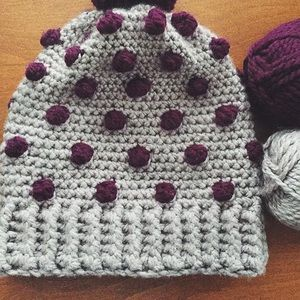 Crystals Creations  Accessories - Charlotte Beanie