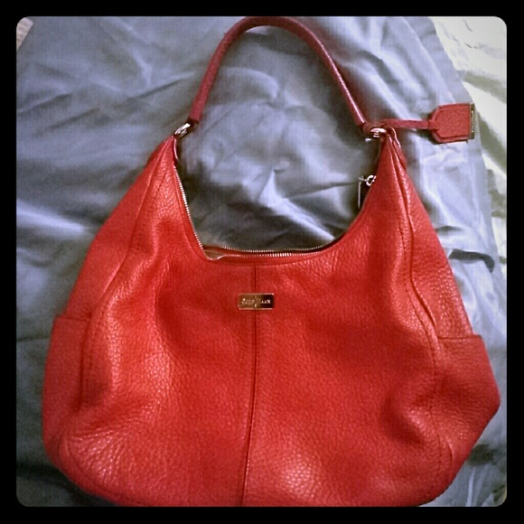 df32846adf Cole Haan Bags | Beautiful Red Leather Purse | Poshmark